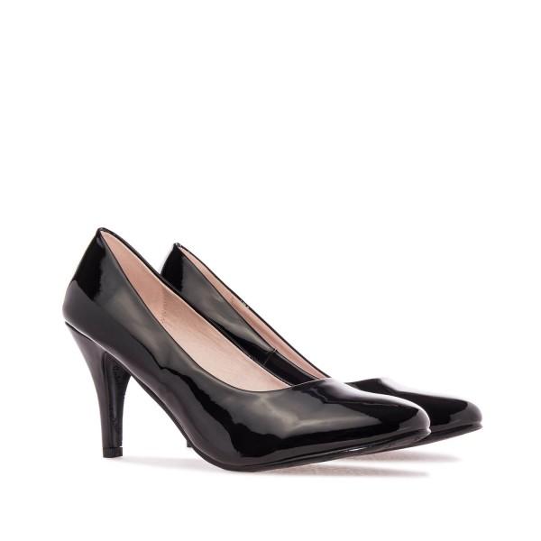AM422 Andres Machado schwarze lack Pumps Brautschuhe Hochzeitsschuhe bridalshoes weddingsshoes