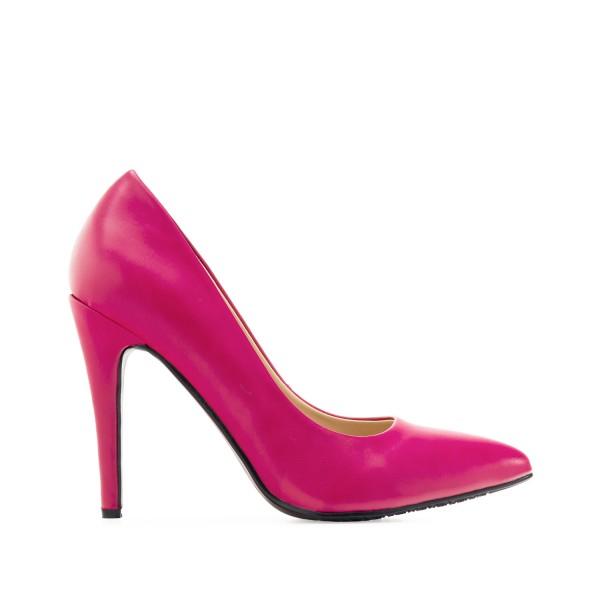 pink rosa fuchsia Pumps High Heels AM5292 Andres Machado Untergrößen Gr. 33 Gr. 32 Gr. 34