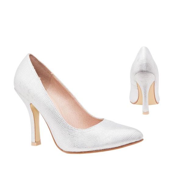 AM5091 Andres Machado silber  Pumps Brautschuhe brdialshoes weddingshoes hochzeitsschuhe